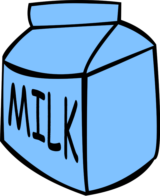 Clipart milk. Carton of panda free