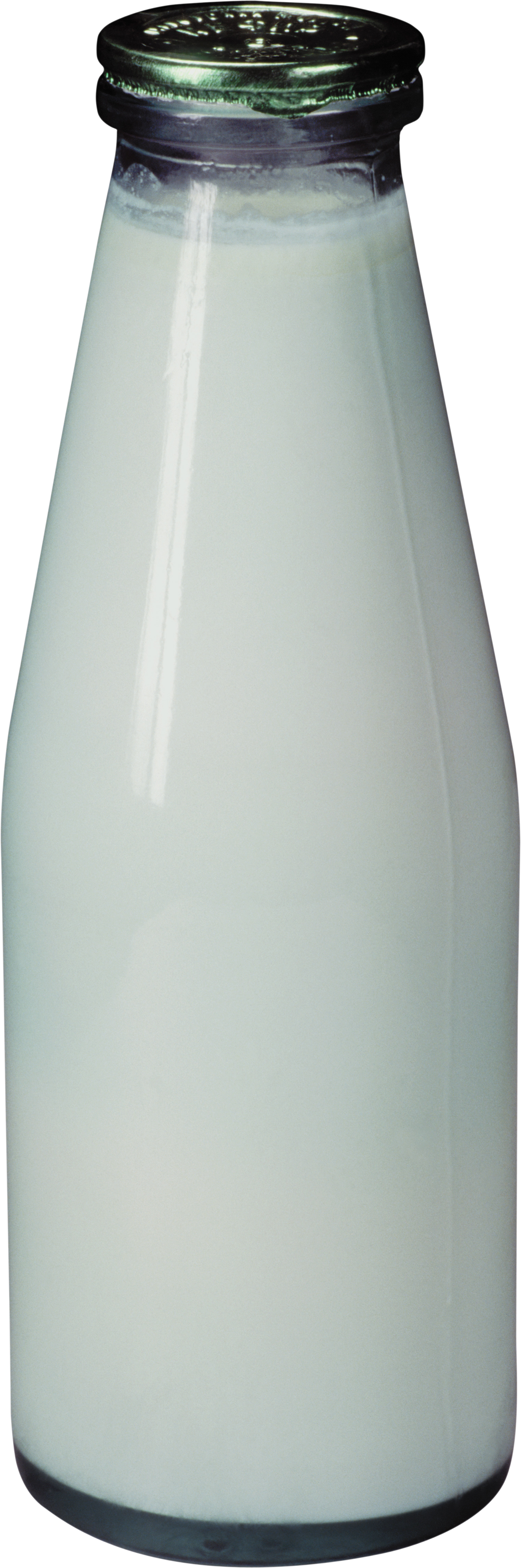 Four isolated stock photo. Milk bottle png