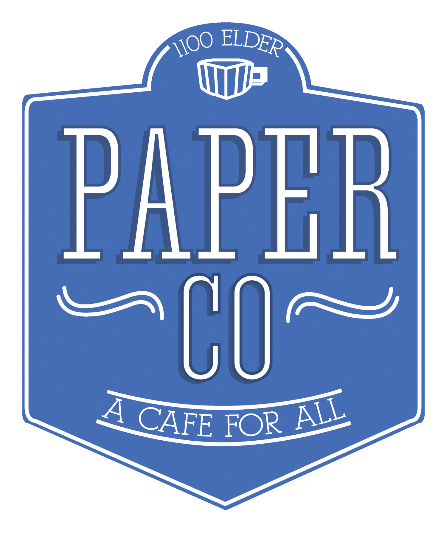 Paper co cafe . Clipart milk cafeteria