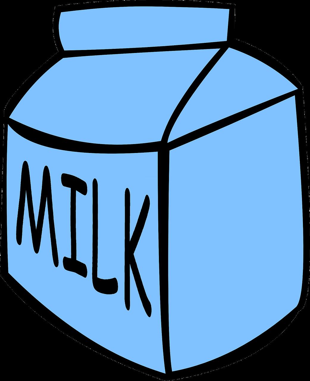 Feature series school breakfast. Milk clipart kid