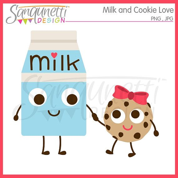 Cookie clipart cooking. Milk and by