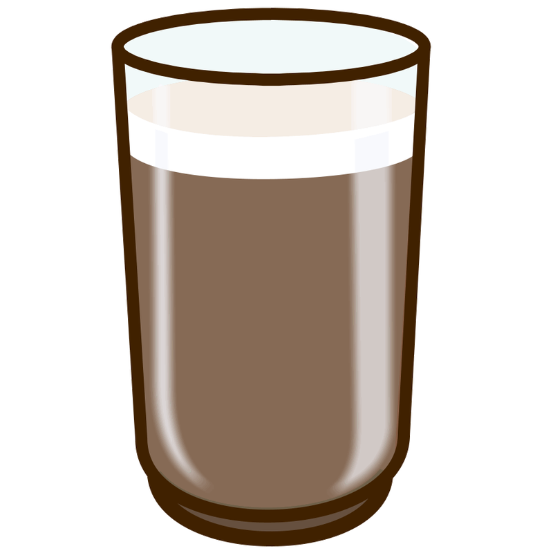 Milk clipart choco milk.  collection of glass