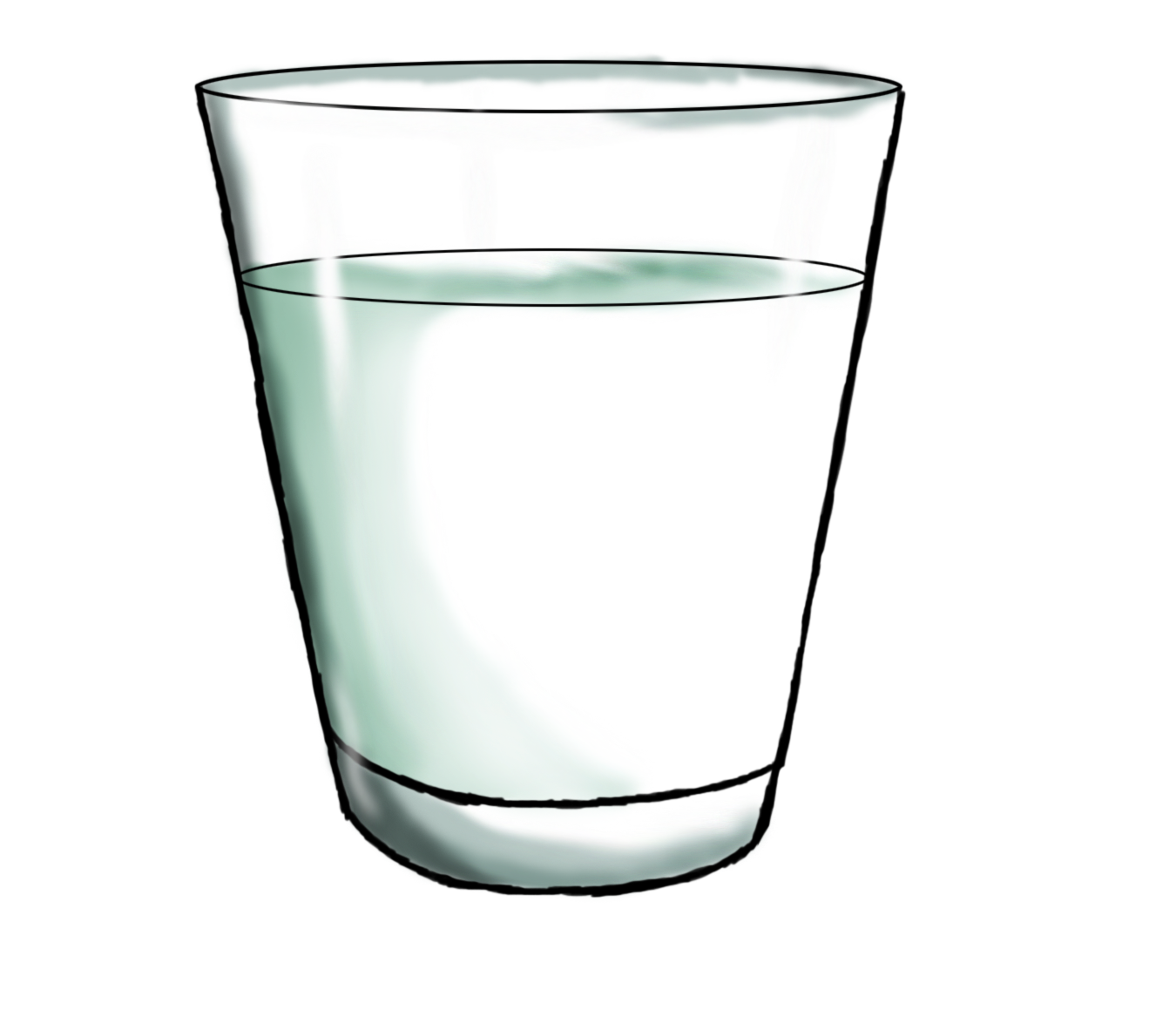 Milk clipart empty glass.  collection of png