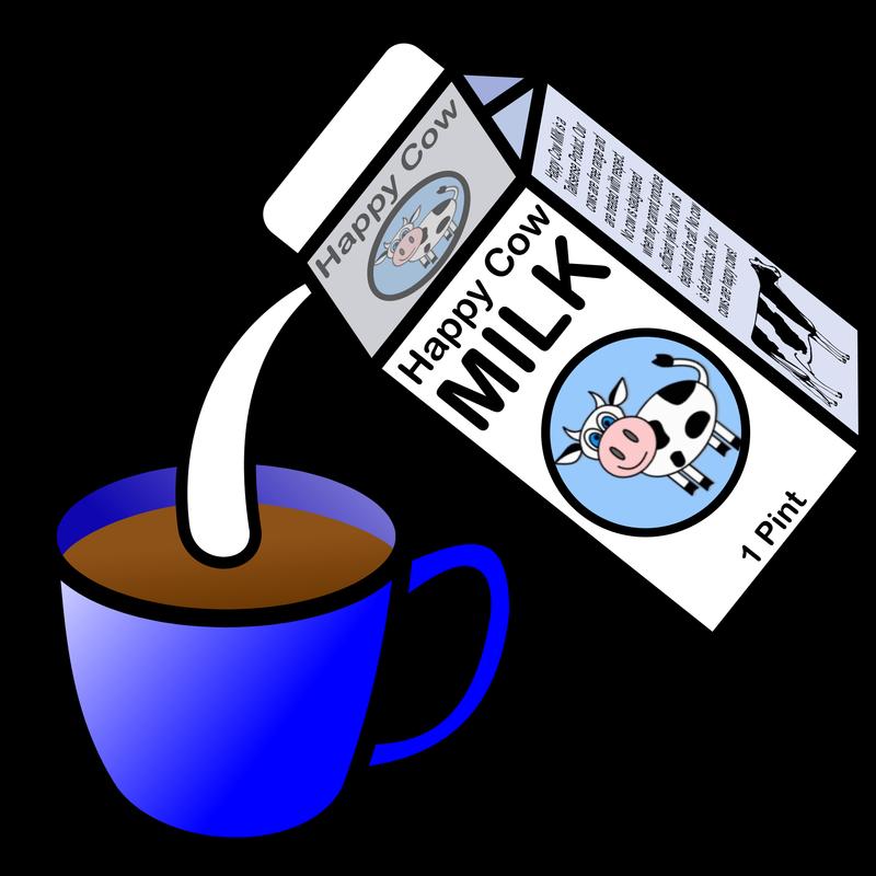 Clipart milk cup milk. Symbol drinks tea talksense