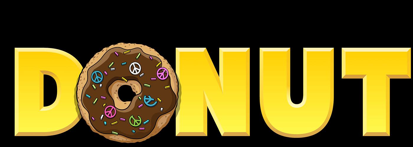 Doughnut clipart bagel. Justin eats a donut