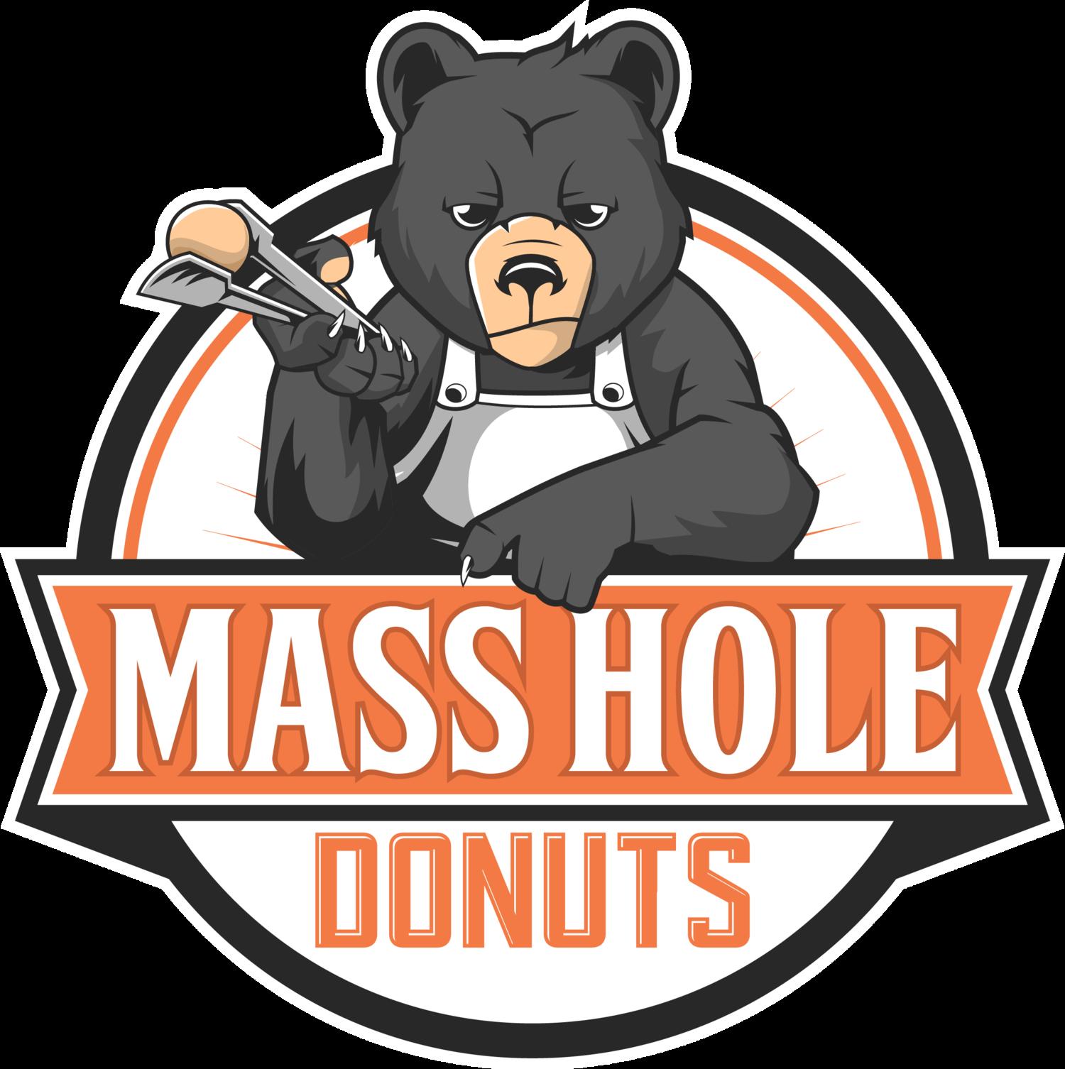 Mass hole donuts . Doughnut clipart dozen