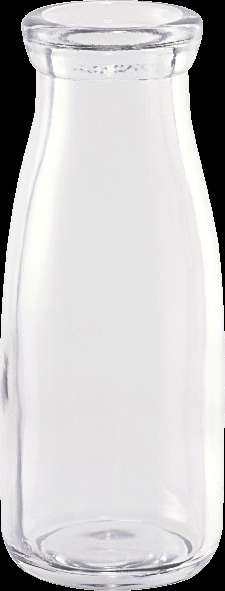 Bottle transparent png stickpng. Milk clipart empty glass