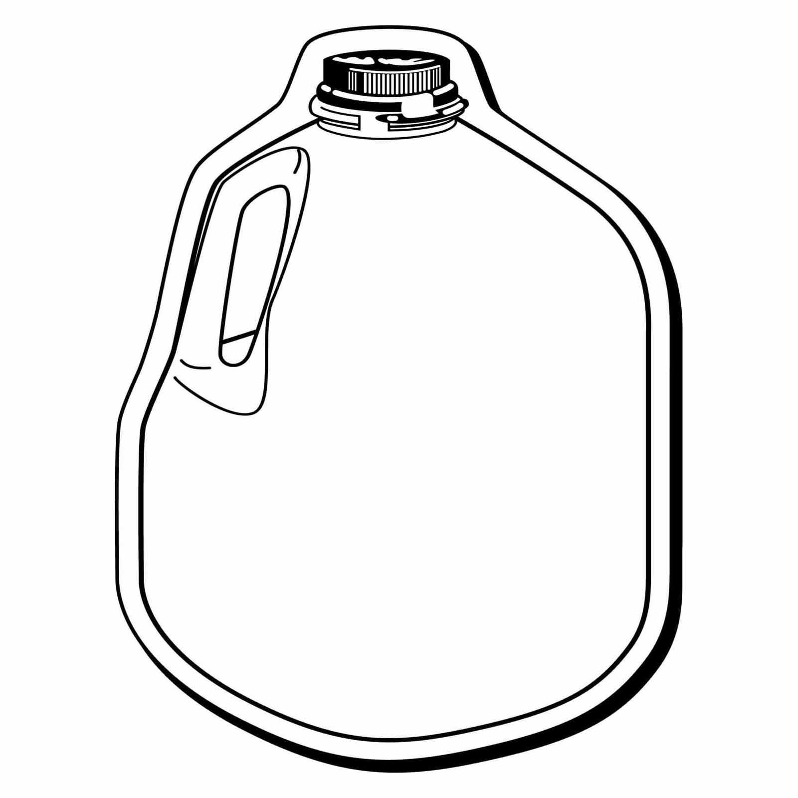 Clipart milk gallon milk. Free cliparts jug download
