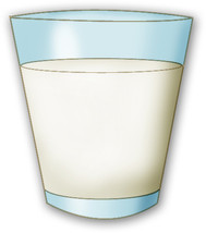 Clipart milk galss. Glass of look at