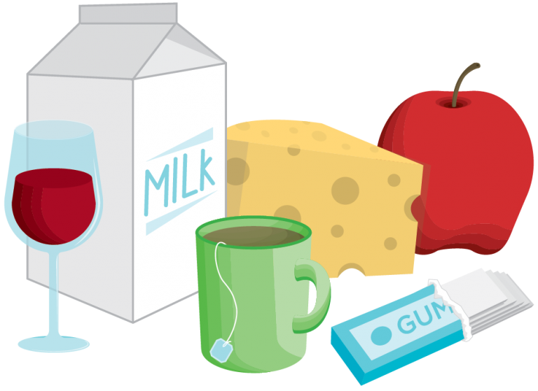 Mmm tasty foods and. Clipart milk healthy food