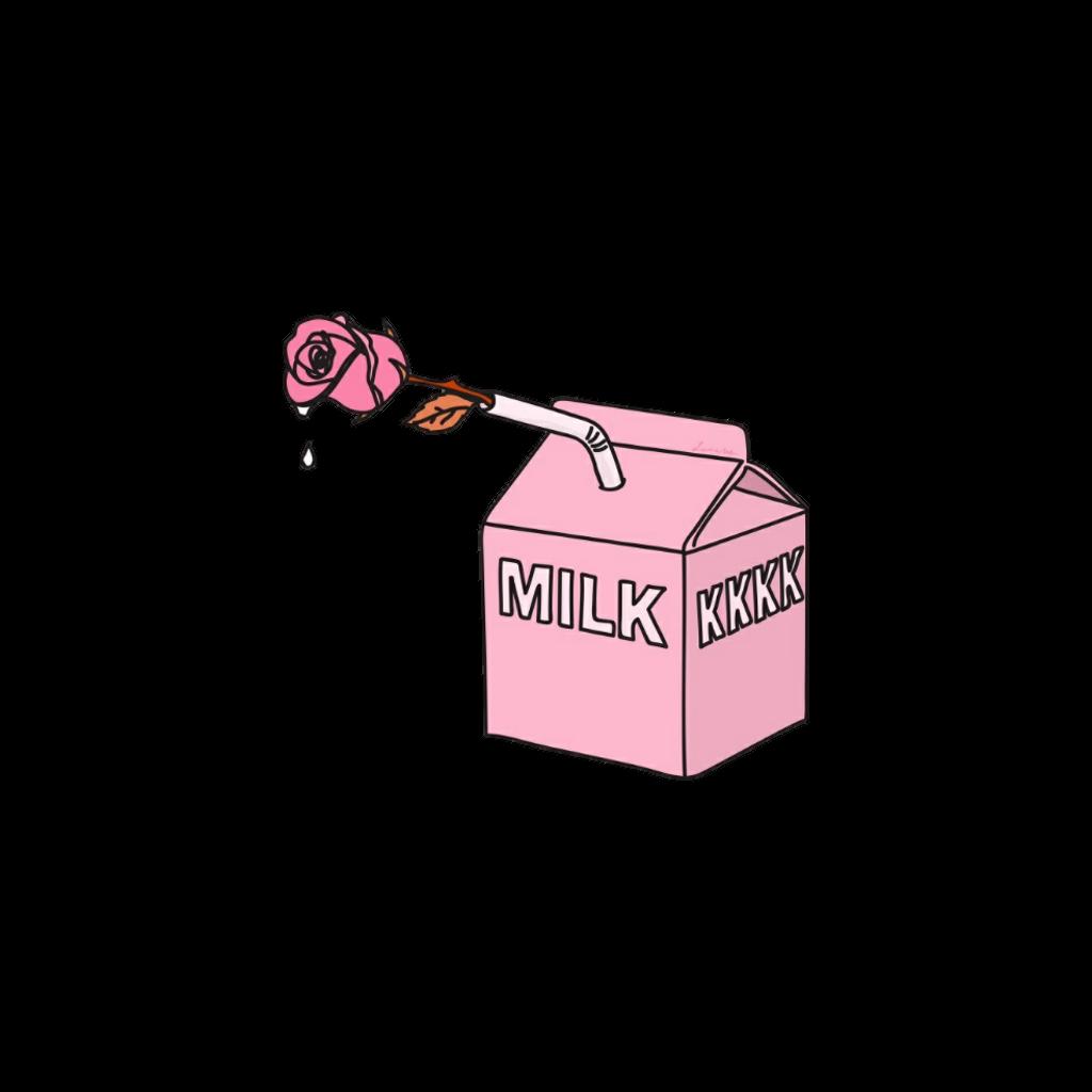 milk clipart illustration