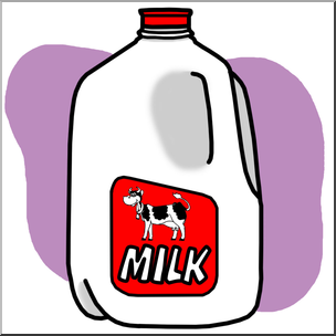 Clip art food containers. Milk clipart milk container
