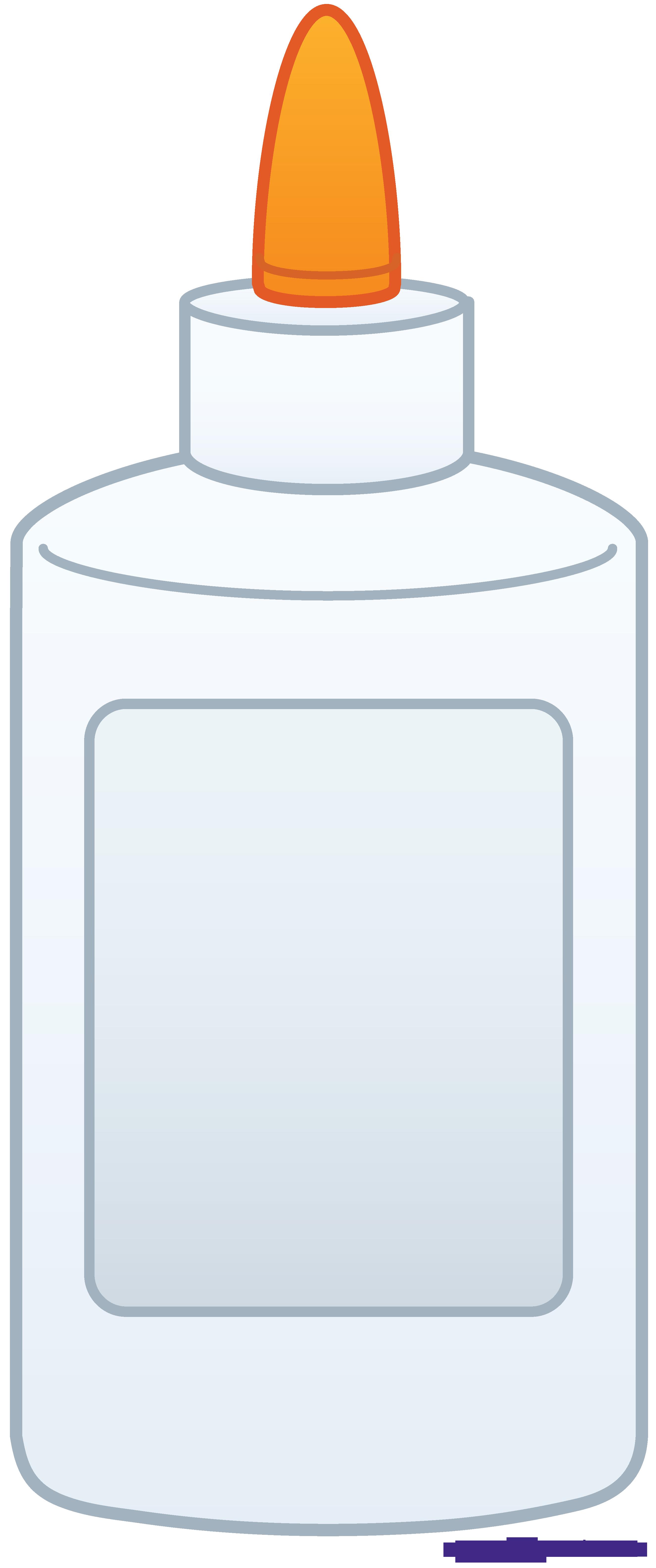 Glue bottle sweet clip. Clipart milk liquid object