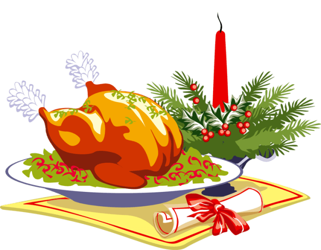 Clipart milk lunch. Christmas dish cliparts zone