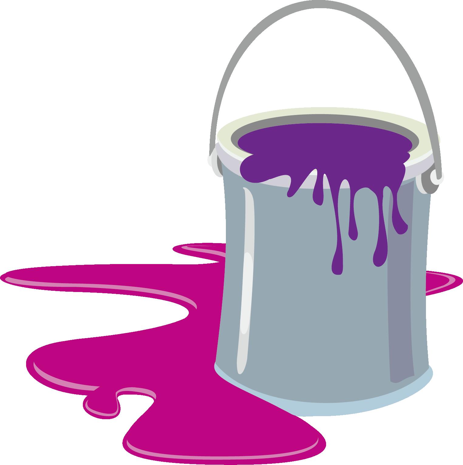 Paint cartoon clip art. Clipart milk milk bucket