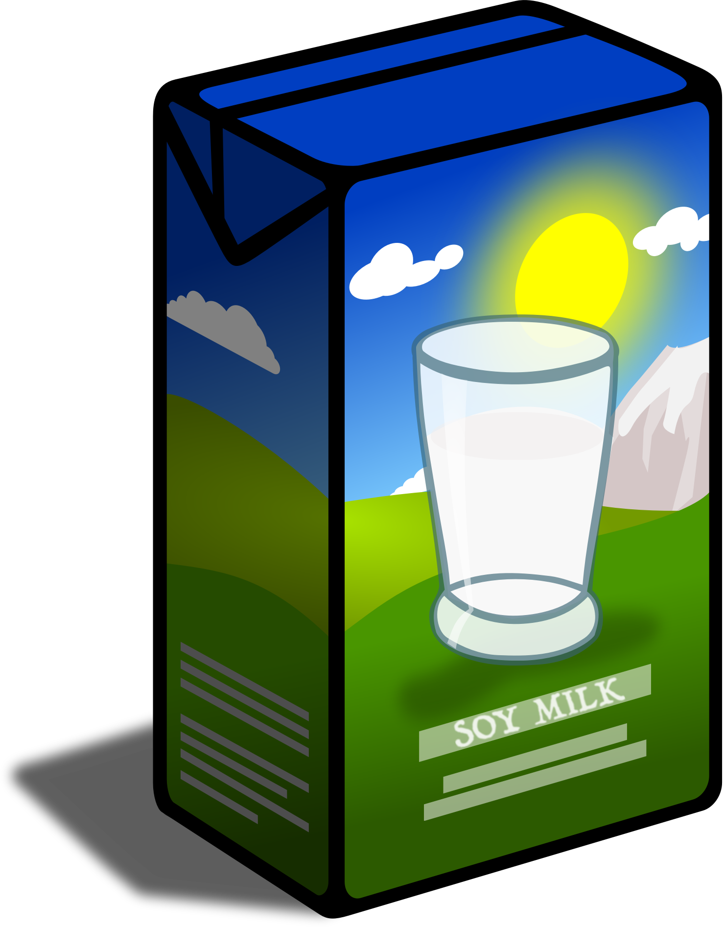 Drinks clipart milk carton. Soy big image png