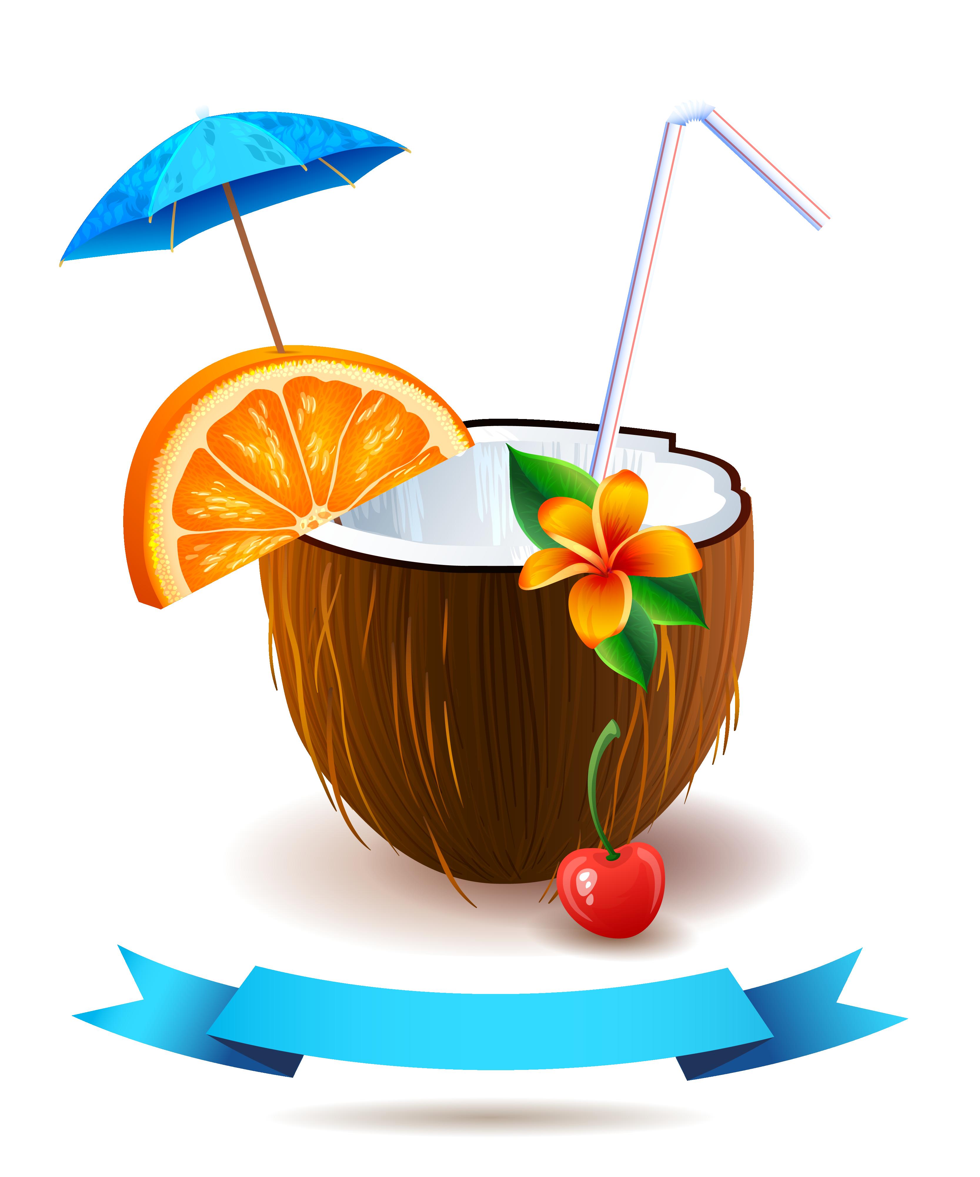 Cocktail clipart coconut. Juice pixf a colada
