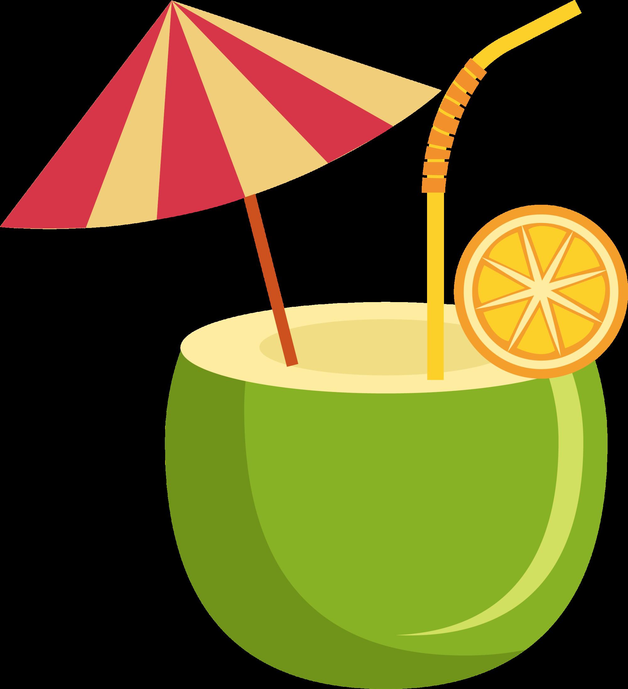 Juice clipart milk juice. Orange drink coconut water