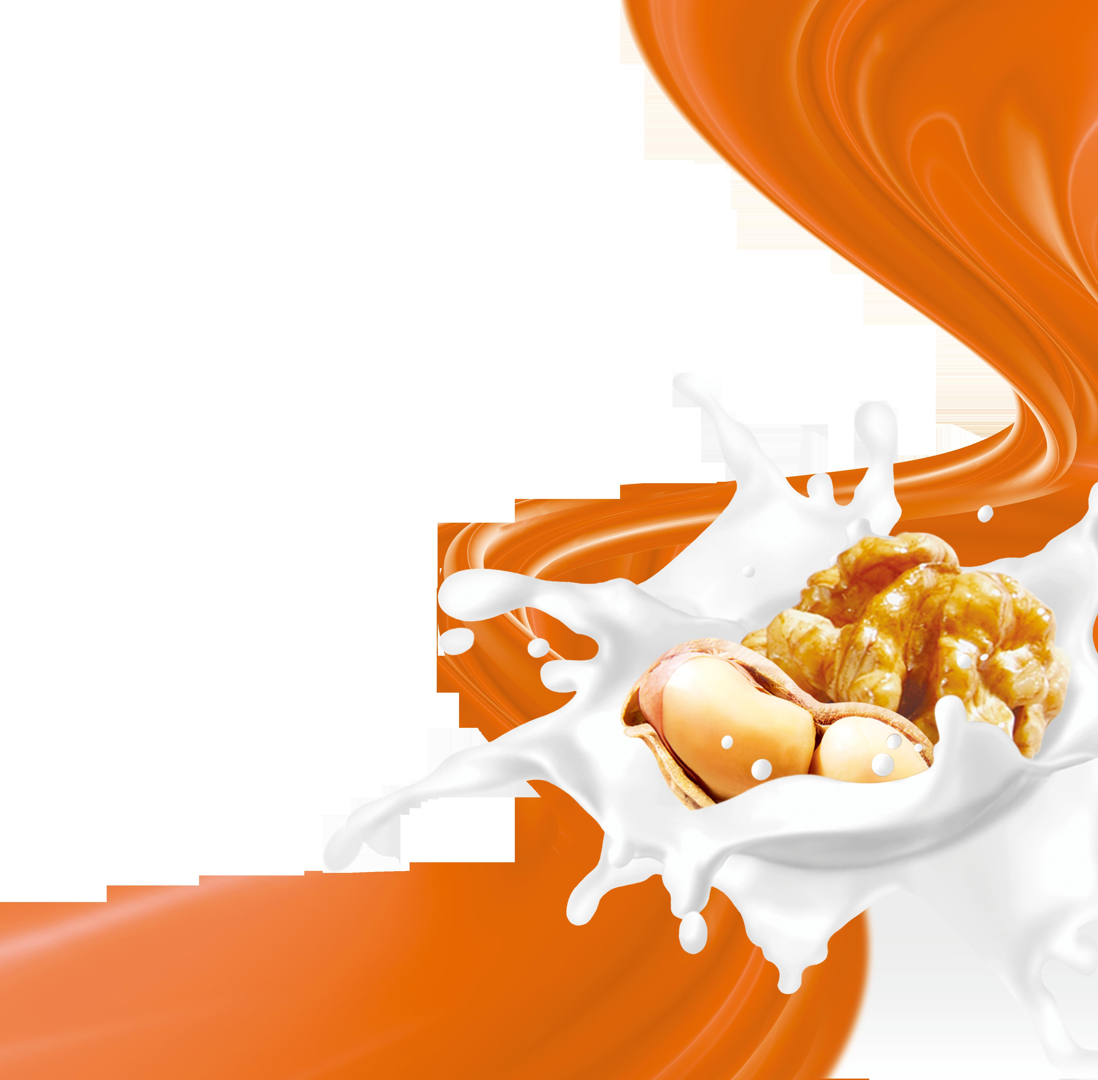 Clipart milk milk packaging. Juice soured walnut and