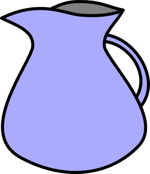 Pitcher clip art at. Water clipart juice