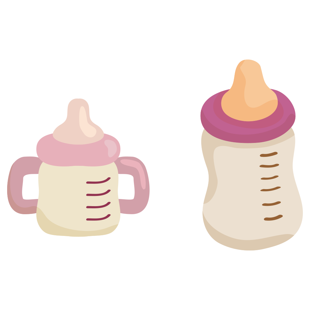 Pacifer clipart baby milk bottle. Infant child breast cartoon