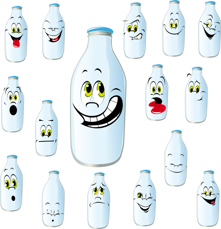 Milk clipart plastic thing. Drawing bottle illustration cartoon