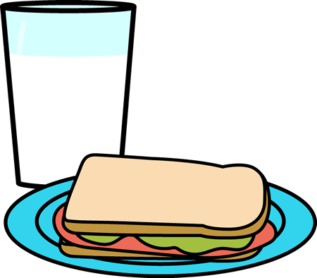 Sandwich clipart water. Milk and cookies free