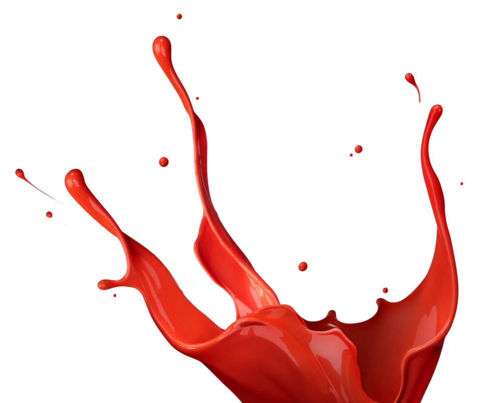 Painter clipart red paint bucket. Png files splash by
