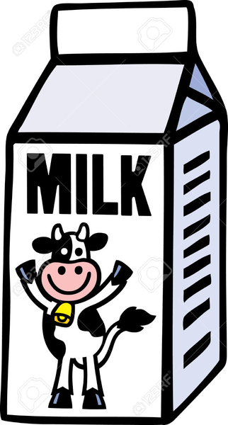 Carton making the web. Clipart milk quart milk