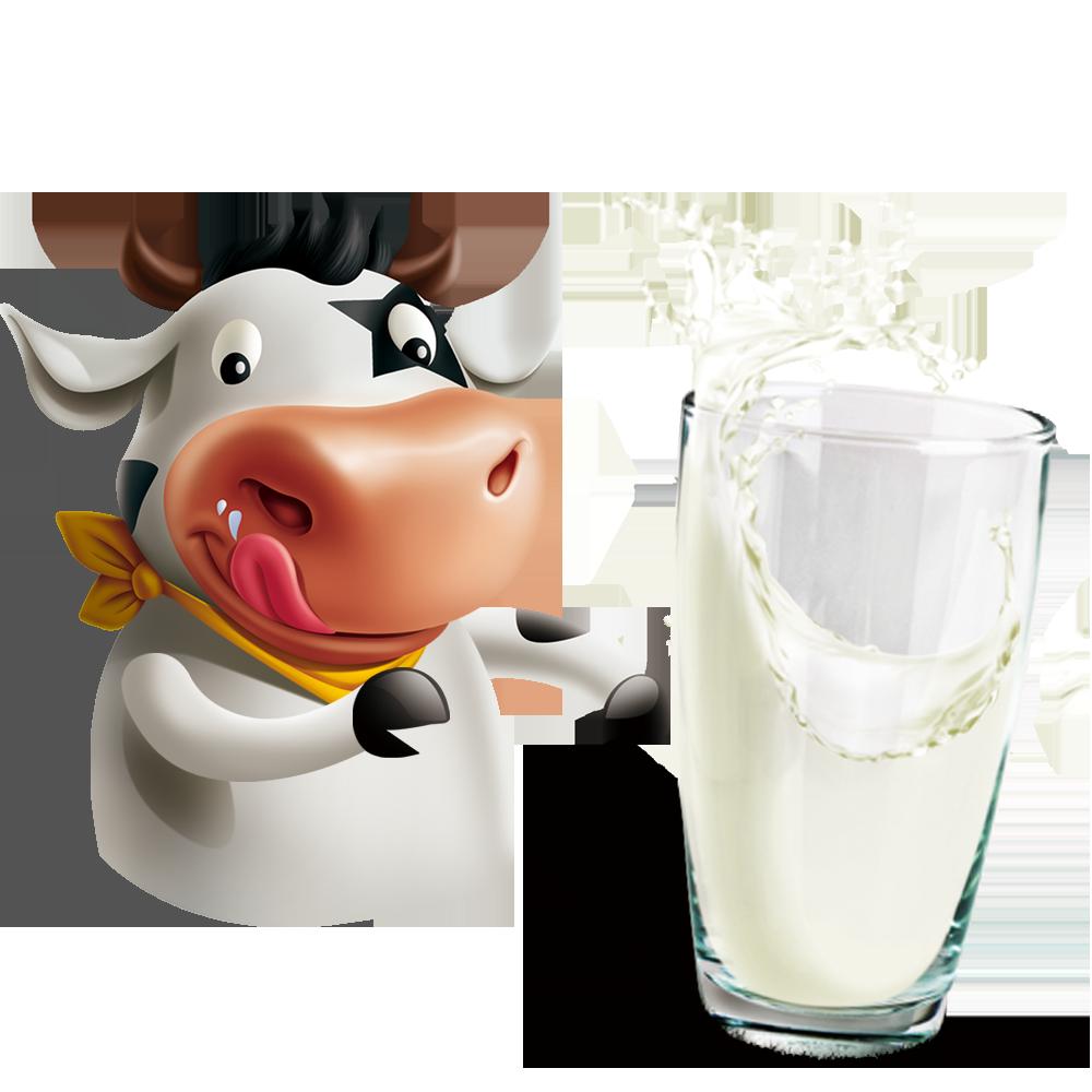 Milkshake cattle soured cream. Clipart milk raw milk