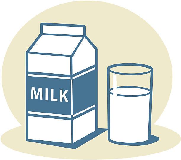 milk clipart galss
