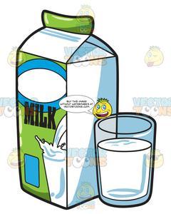 Clipart milk regular. A full glass of