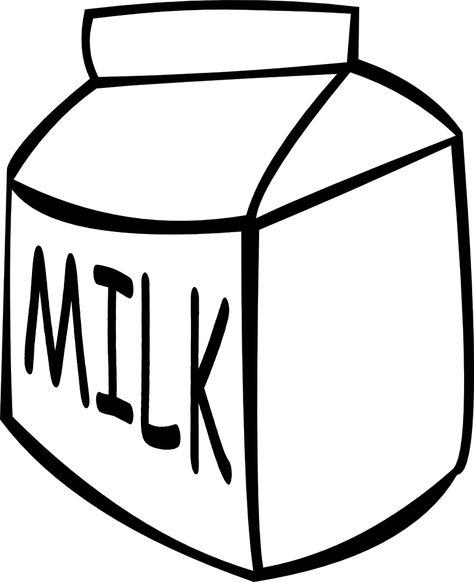 Pinterest . Clipart milk simple