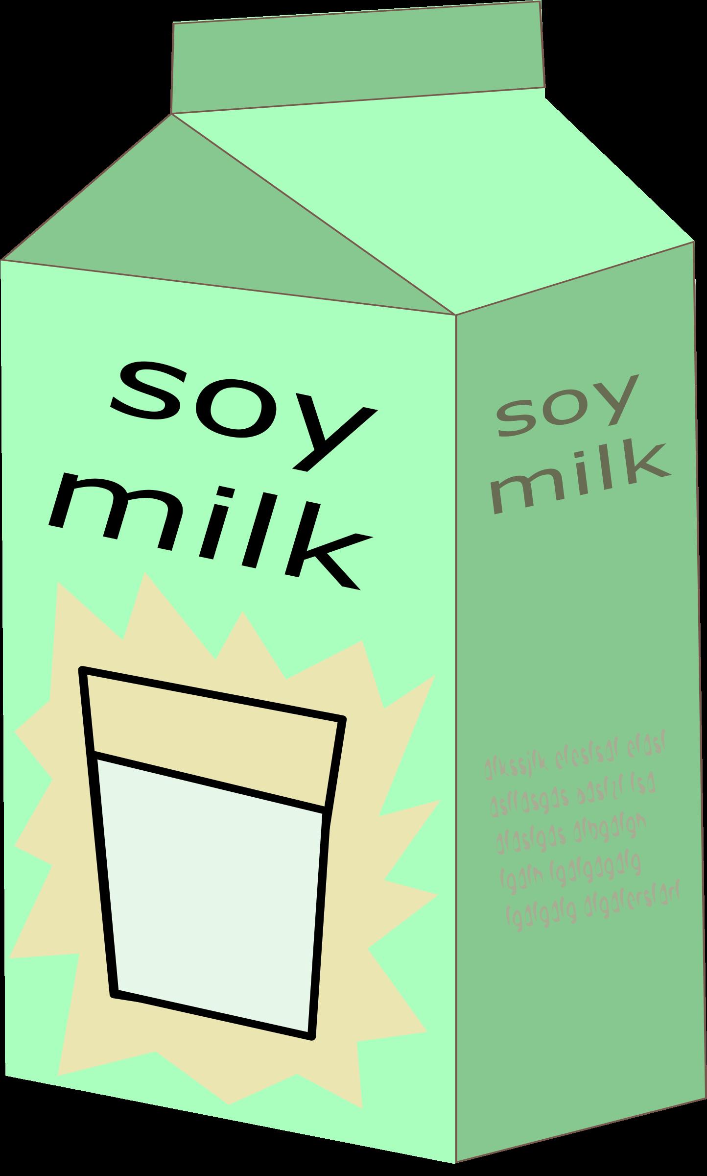 Milk soy milk