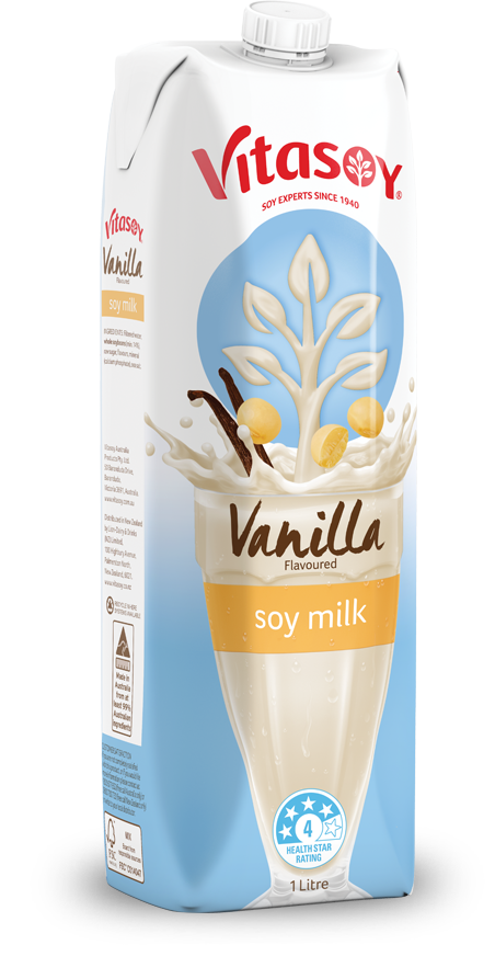 Vitasoy chocolate vanilla flavoured. Dairy clipart soy milk