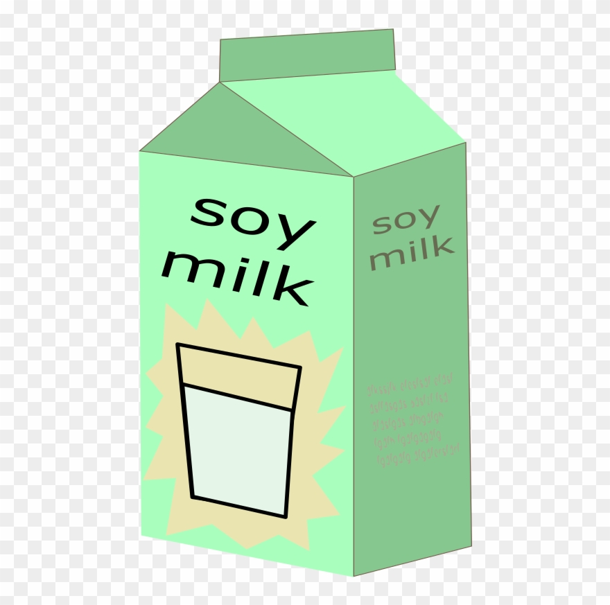 Milk clipart soy milk. Medium image png download