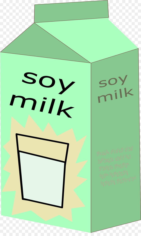 Green background text transparent. Milk clipart soy milk