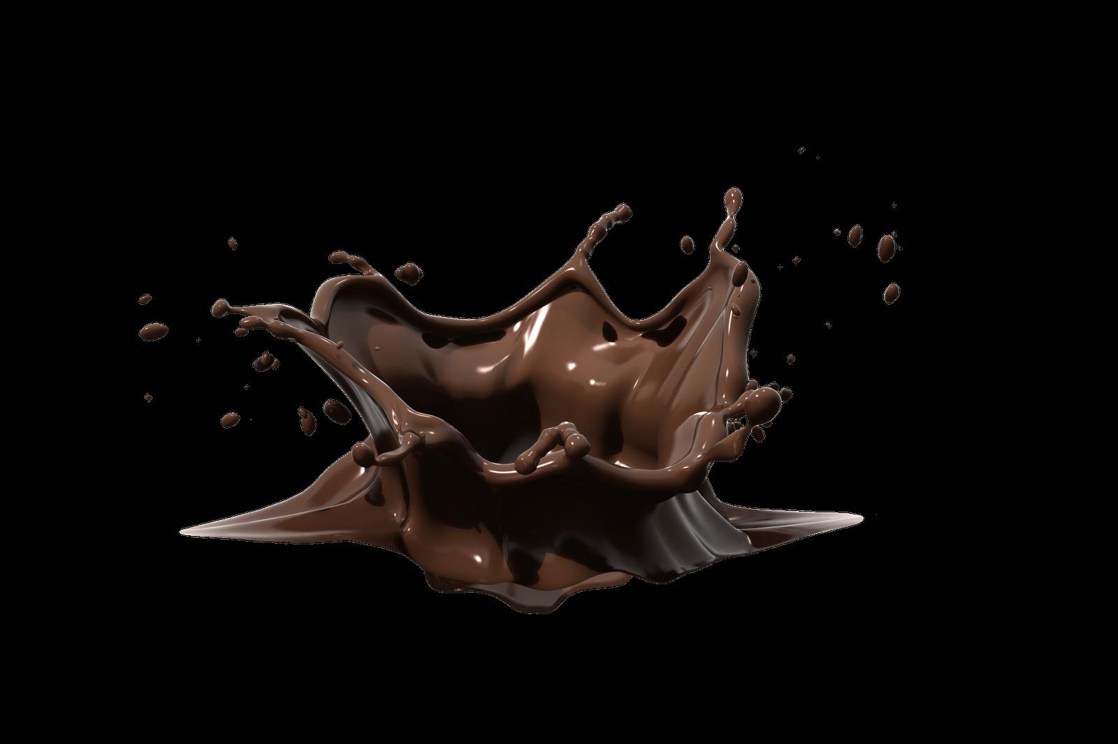 Chocolate transparent png stickpng. Milk clipart splash