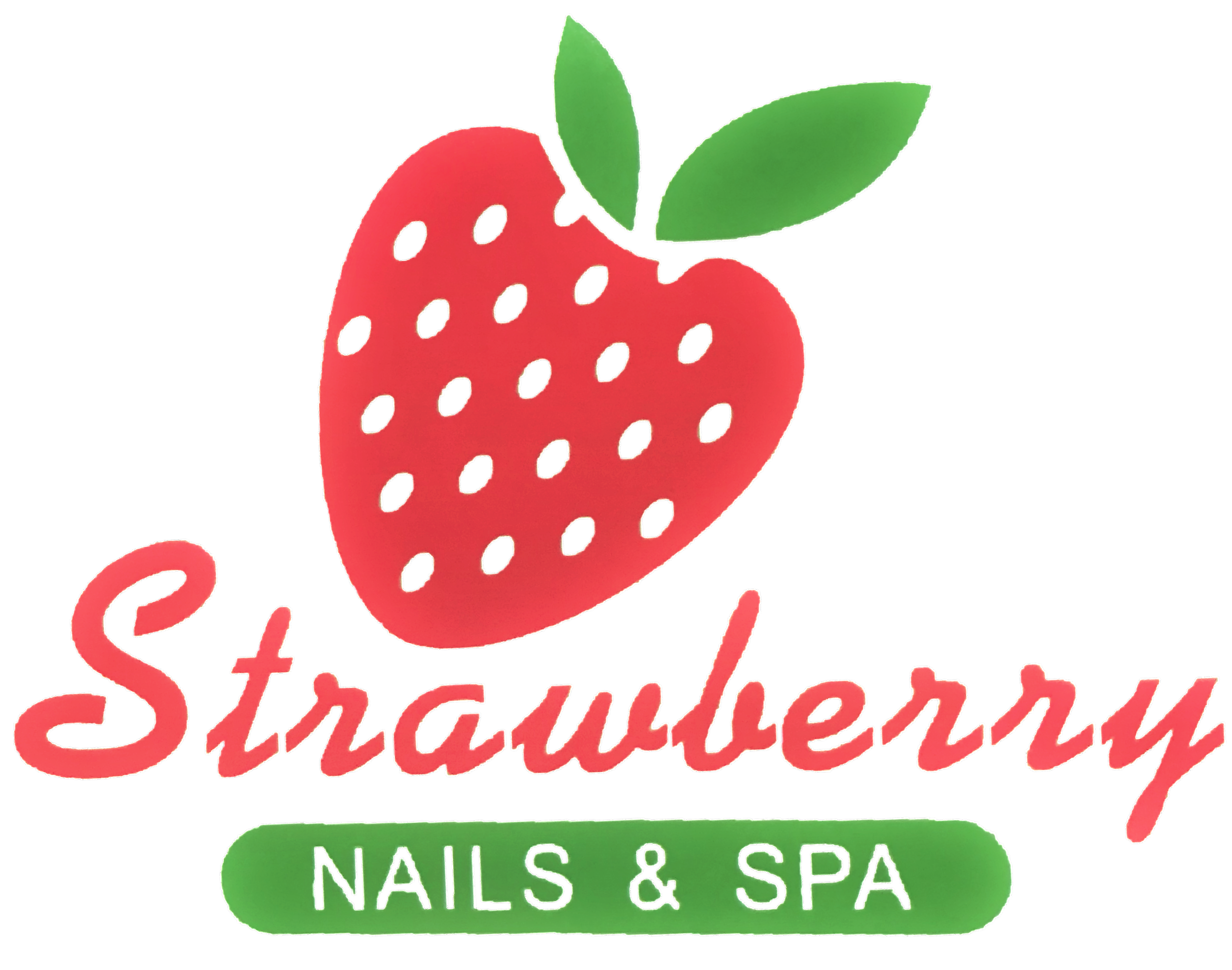 Strawberry and salon in. Nails clipart spa nail