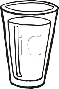 Picture a panda free. Clipart milk tall glass
