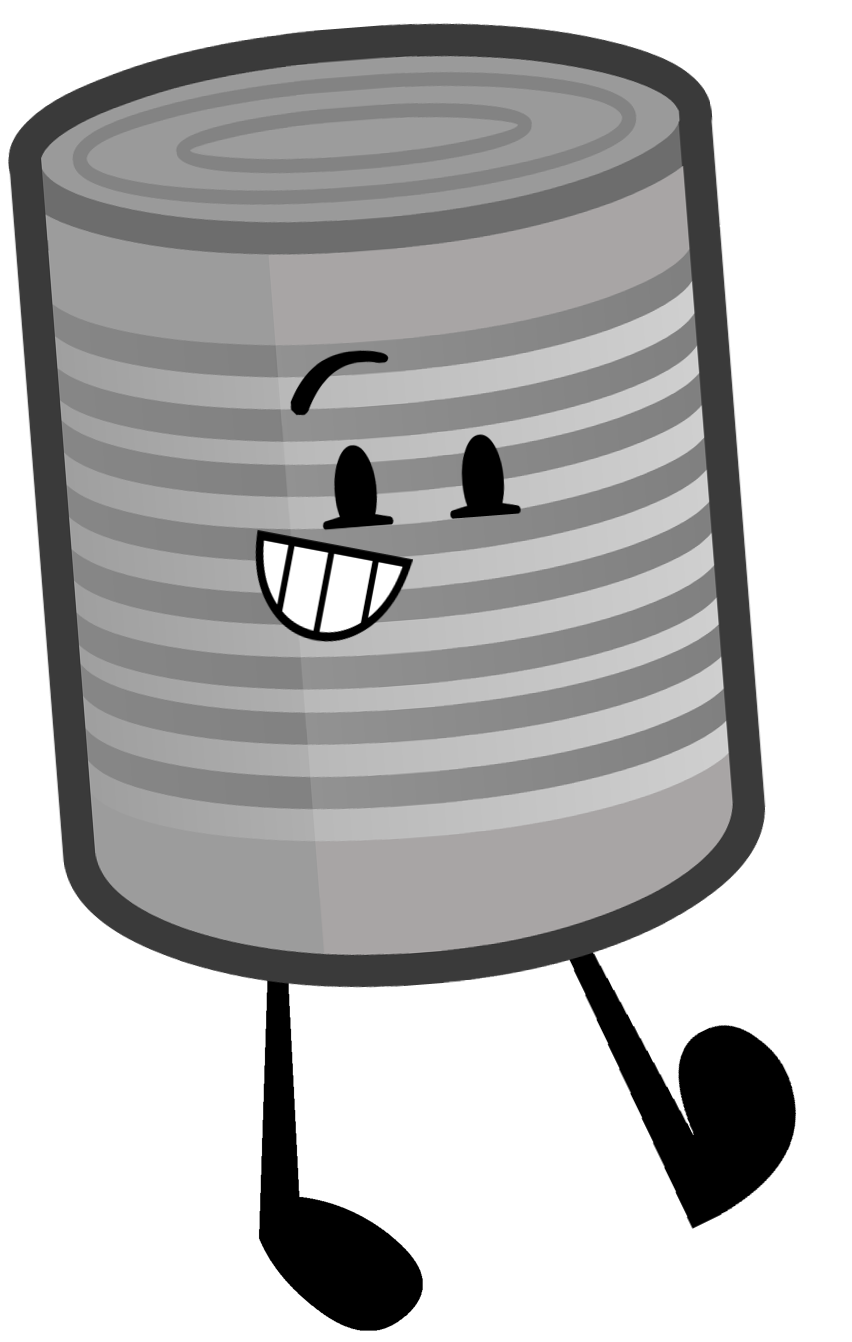Clipart milk tin.  cool can black