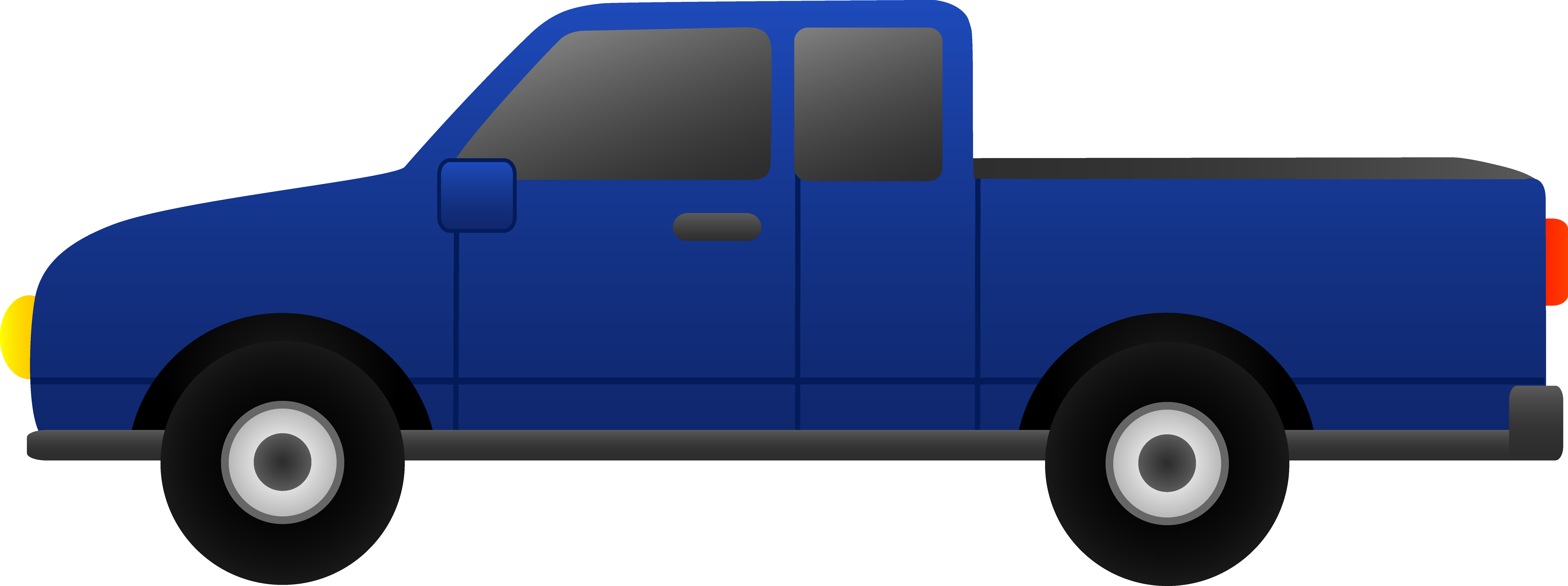 Minivan clipart cartoon. Semi truck at getdrawings