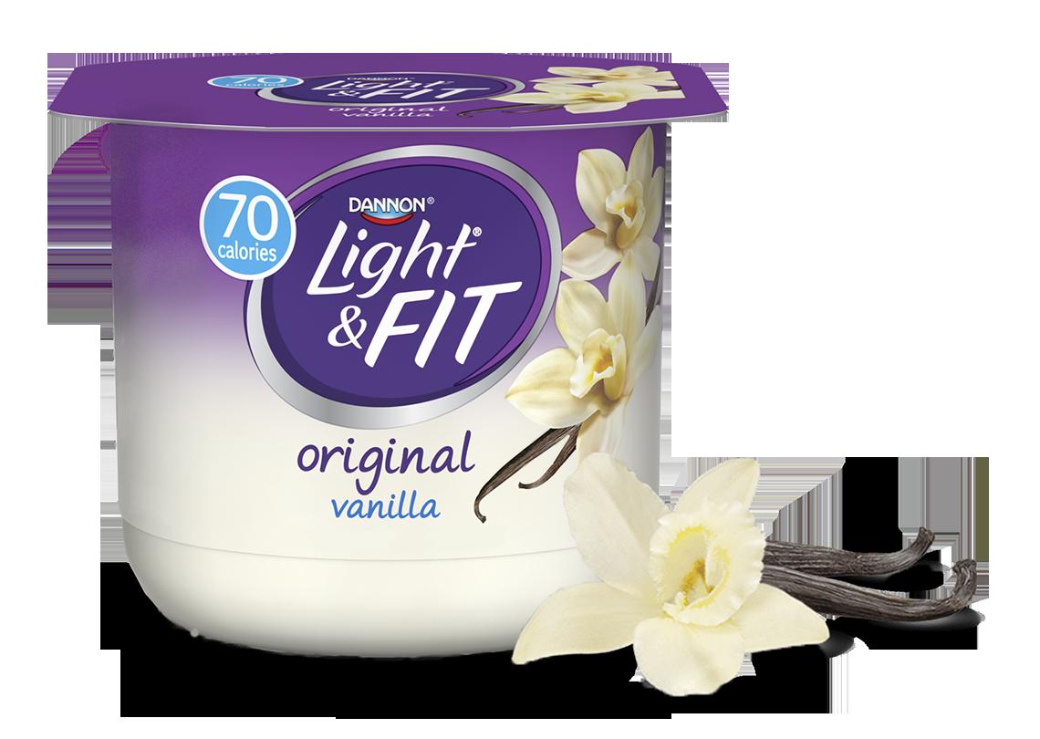 Yogurt clipart low fat yogurt. Vanilla nonfat light fit
