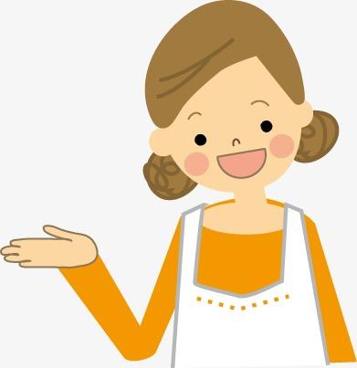 Cartoon aprons chef png. Clipart mom