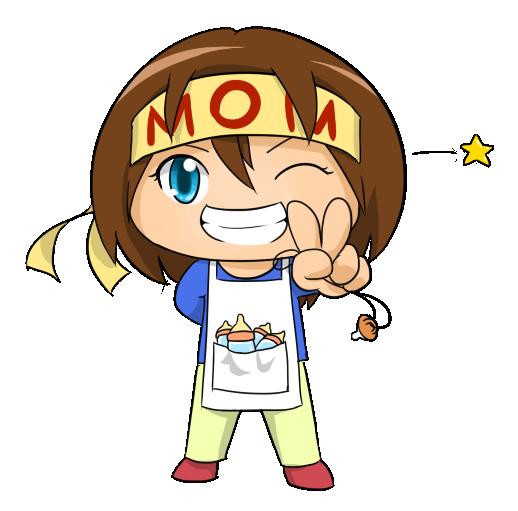 Clipart mom. Super panda free images
