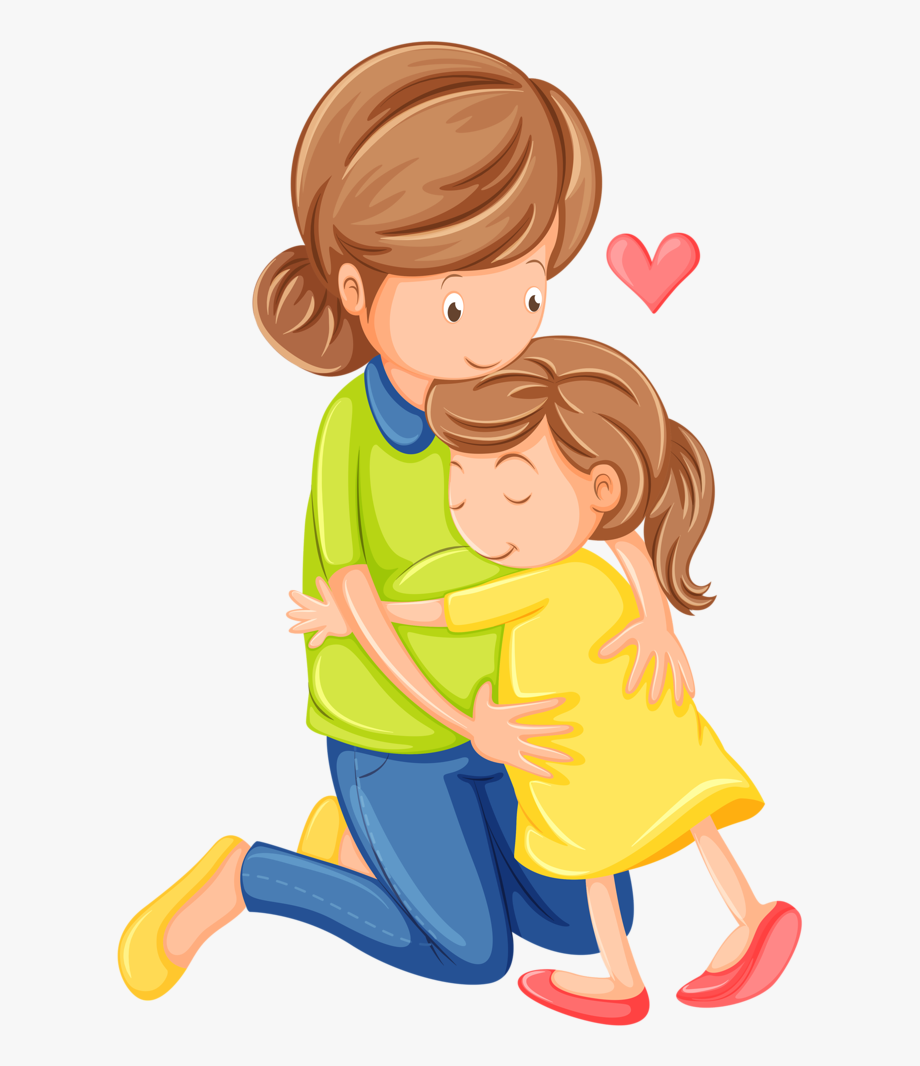 Mother clipart patient. Family people daughter son
