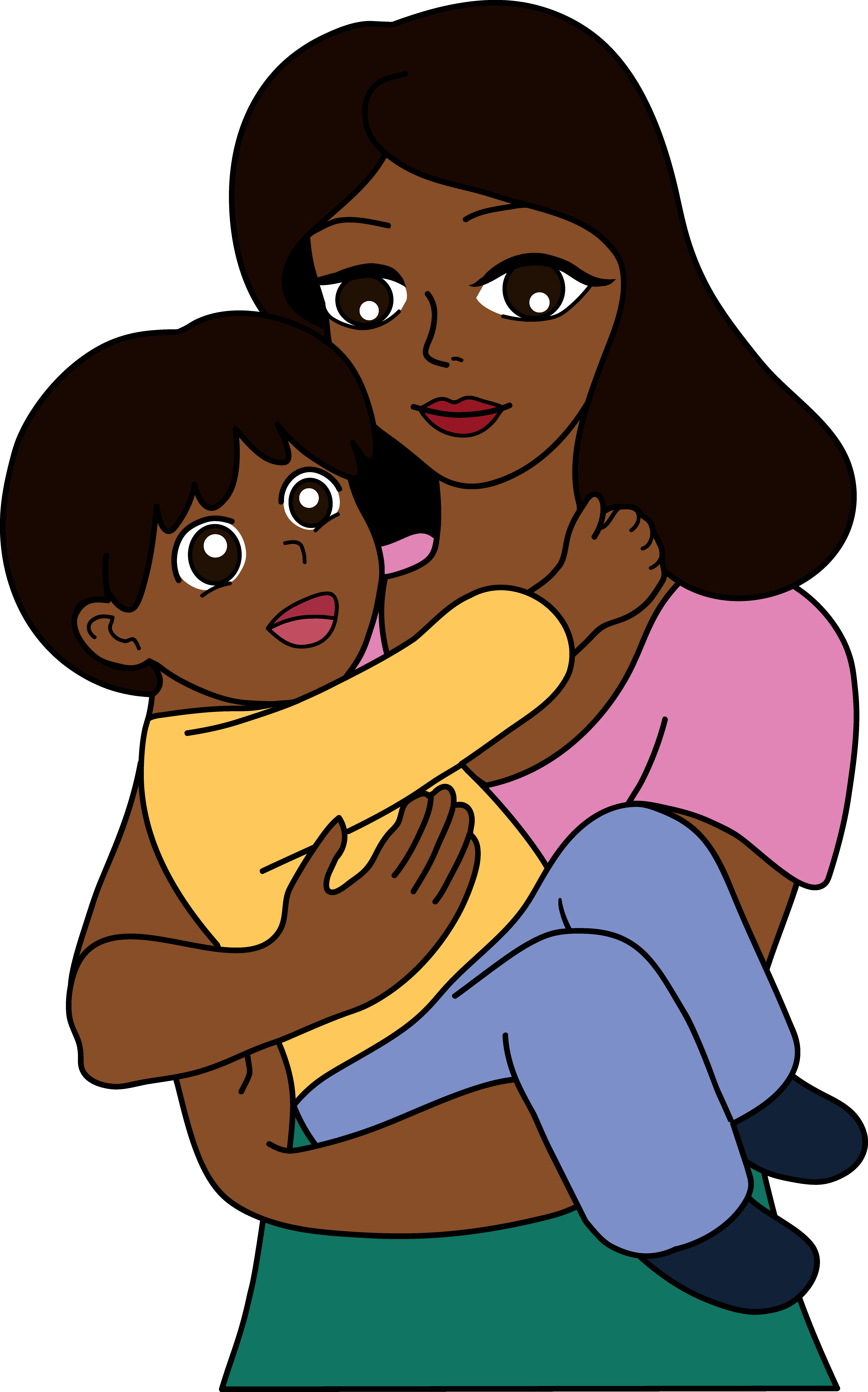 Best mom clipartion com. Mother clipart single parent family