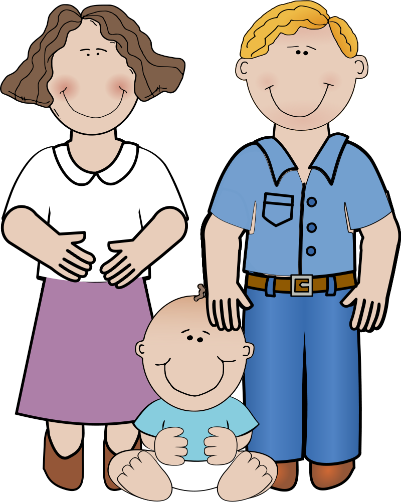collection of and. Clipart mom aunt