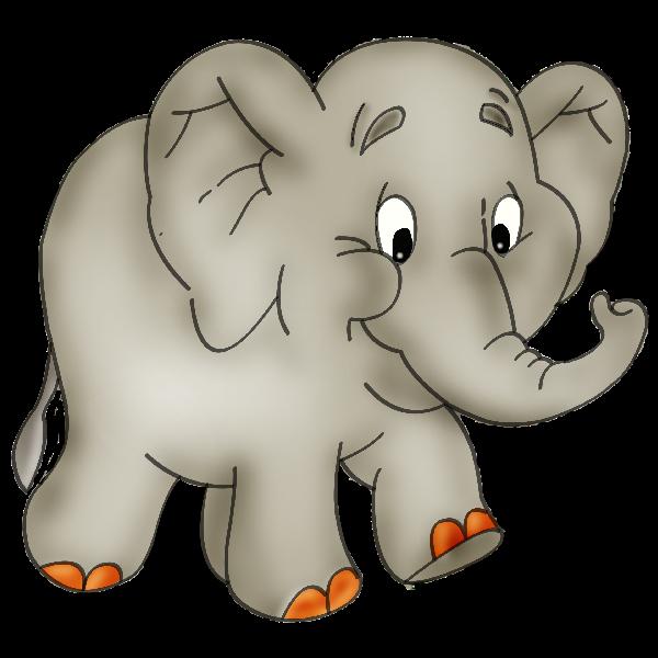Clipartix . Clipart mom baby elephant