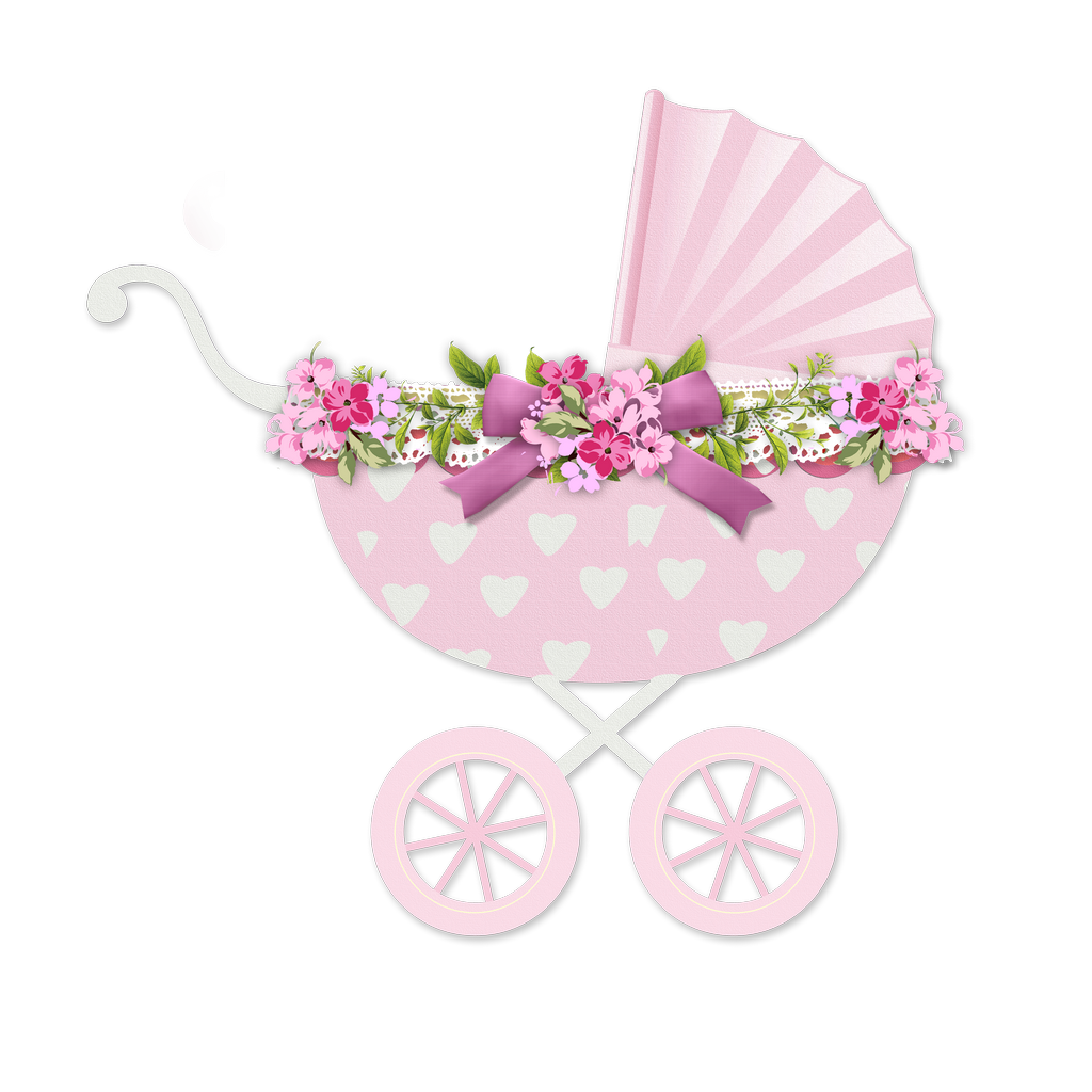 It s a girl. Clipart mom baby stroller
